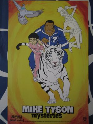 Mike Tyson Mysteries 2015 Comic-Con mini poster