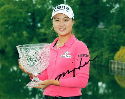 Minjee Lee autographed 2015 Kingsmill Championship 8x10 photo