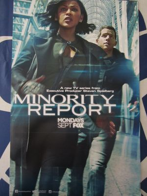Minority Report 2015 San Diego Comic-Con mini 11x17 inch FOX promo poster MINT