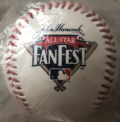 MLB All-Star FanFest logo baseball (limited edition 1000)