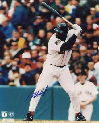 Mo Vaughn autographed Boston Red Sox 8x10 photo