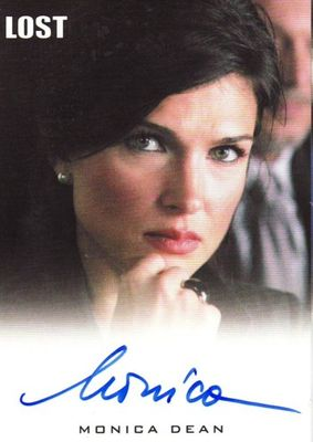 Monica Dean LOST 2010 Rittenhouse certified autograph card