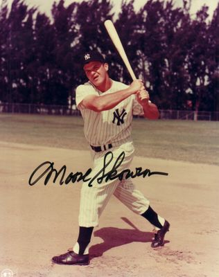 Moose Skowron autographed New York Yankees 8x10 photo