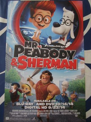 Mr. Peabody and Sherman mini movie poster