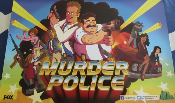 Murder Police 2013 Comic-Con exclusive mini 11x17 promo poster