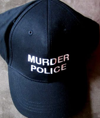 Murder Police 2013 Comic-Con exclusive promo embroidered cap or hat