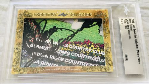 Musician Leaf Cut Signature Cards