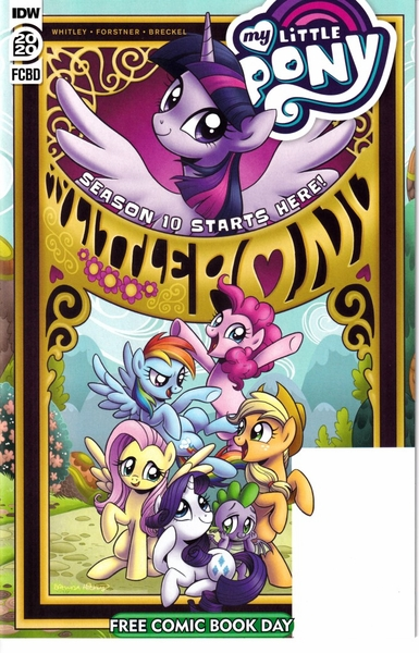 My Little Pony 2020 Free Comic Book Day comic book MINT NEW