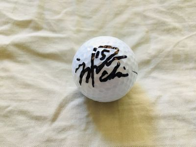 Na Yeon Choi autographed Wilson golf ball