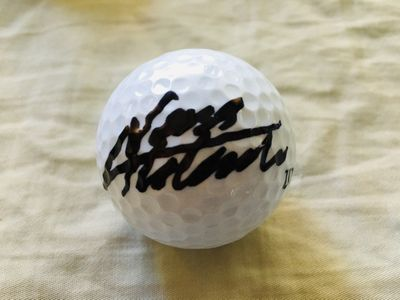 Nasa Hataoka autographed Wilson golf ball