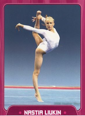 Nastia Liukin 2010 Sports Illustrated for Kids gymnastics card
