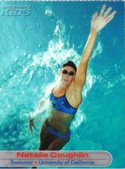 Natalie Coughlin 2003 Sports Illustrated for Kids Rookie Card