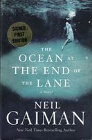 Neil Gaiman autographed The Ocean at The End of the Lane hardcover signed edition book