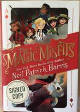 Neil Patrick Harris autographed The Magic Misfits hardcover first edition book