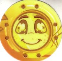 Neopets 2010 Comic-Con JubJub Power Bounce game token