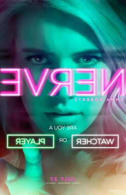 Nerve 2016 mini 13x20 movie poster (Emma Roberts)