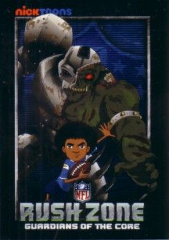 NFL Rush Zone Nick Toons 2010 San Diego Comic-Con promo card