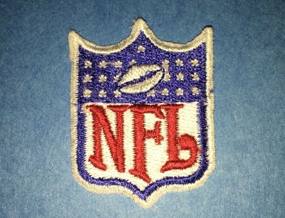 NFL Shield old vintage logo embroidered patch