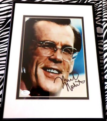 Nick Nolte autographed 8x10 portrait photo matted and framed (JSA)