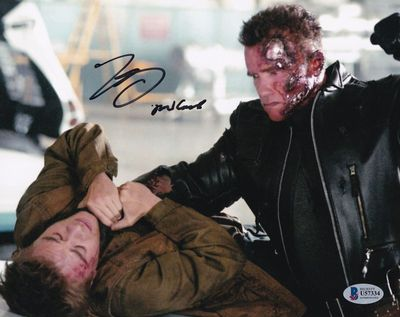 Nick Stahl autographed Terminator 3 8x10 movie photo inscribed John Connor (BAS authenticated)