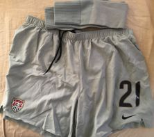 Nicole Barnhart US Soccer 2007 Women's World Cup game issued Nike jersey shorts and socks