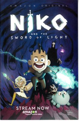 Niko and the Sword of Light 2017 Comic-Con Amazon comic book
