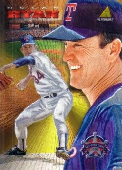 Nolan Ryan 1995 Pinnacle All-Star FanFest promo card