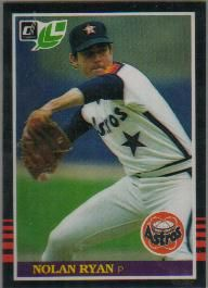 Nolan Ryan Houston Astros 1985 Donruss Leaf card #216 NrMt