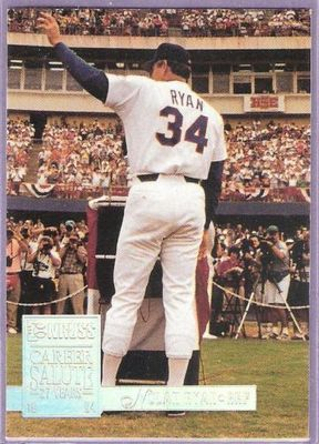 Nolan Ryan Rangers 1994 Donruss Special Edition card #1
