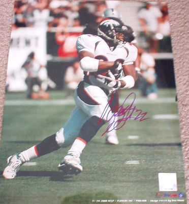 Olandis Gary autographed Denver Broncos 11x14 photo