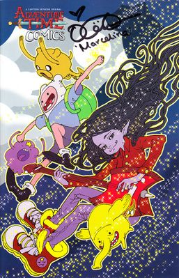 Olivia Olson autographed Adventure Time #20 2018 Emerald City Comic-Con exclusive variant comic book