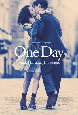 One Day 2011 movie 5x7 inch promo postcard (Anne Hathaway Jim Sturgess)