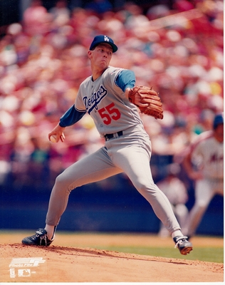 Orel Hershiser Los Angeles Dodgers 8x10 photo