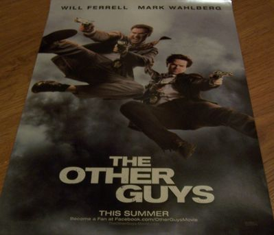 Other Guys mini movie poster (Will Ferrell & Mark Wahlberg)