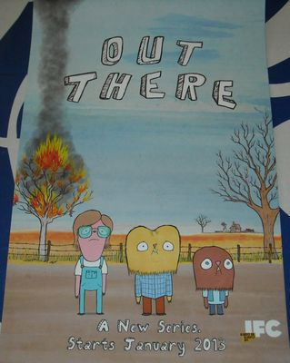 Out There 2012 Comic-Con mini 11x17 promo poster