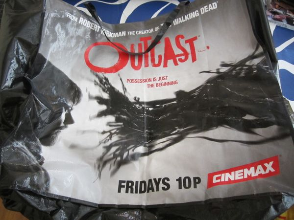 Outcast 2016 Comic-Con huge double sided tote bag