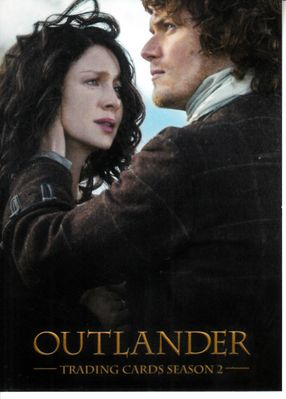 Outlander Cryptozoic 2017 San Diego Comic-Con exclusive promo card P9