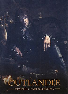 Outlander Season 3 Cryptozoic 2018 Wondercon promo card P1 (Jamie Fraser as Sam)