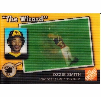 Ozzie Smith 2003 Upper Deck San Diego Padres Lenticular Home