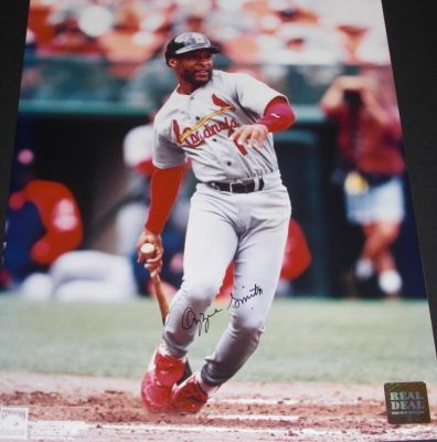 Ozzie Smith autographed St. Louis Cardinals 8x10 photo