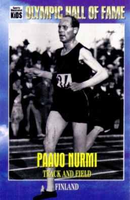 Paavo Nurmi Olympic Hall of Fame 1995 Sports Illustrated for Kids card
