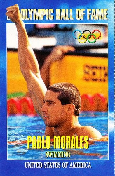 Pablo Morales Olympic Hall of Fame 1996 Sports Illustrated for Kids card