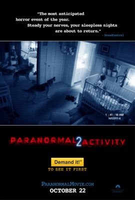 Paranormal Activity 2 mini movie poster