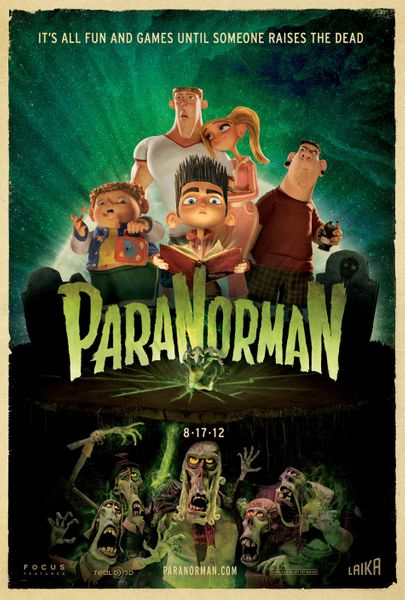 ParaNorman mini 2012 movie poster