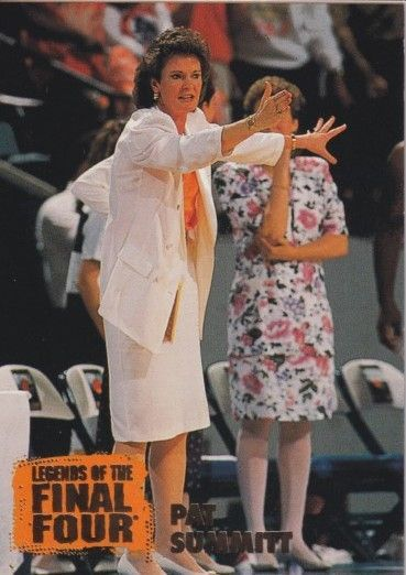 Pat Summitt Tennessee Vols 1996 Classic Legends of the Final Four card