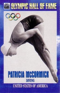 Patricia McCormick Olympic Hall of Fame 1996 Sports Illustrated for Kids card