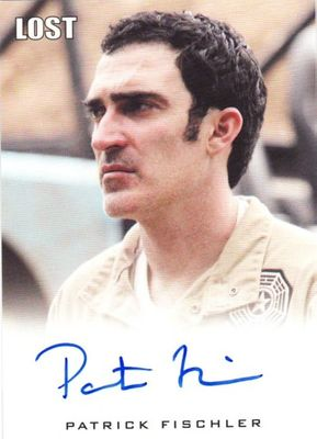 Patrick Fischler LOST 2010 Rittenhouse certified autograph card