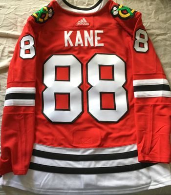 Patrick Kane Chicago Blackhawks authentic Adidas red game model stitched jersey NEW WITH TAGS