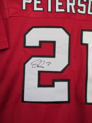 Patrick Peterson autographed Arizona Cardinals red authentic Reebok NFL Equipment stitched jersey