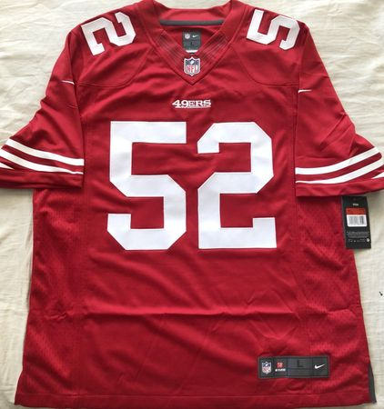 Patrick Willis San Francisco 49ers authentic Nike stitched red jersey NEW WITH TAGS